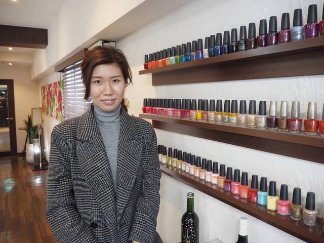 小川由美さん (30代/ネイル歴12年)