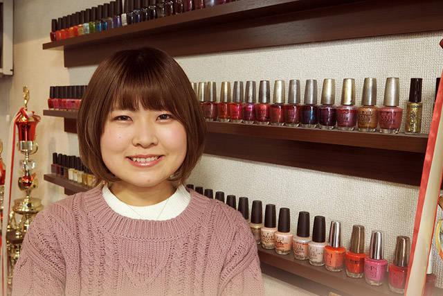 澤田 知里さん(20代 / ネイル歴5か月)
